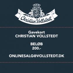 På billedet vises der et billede af Vollstedt gavekort